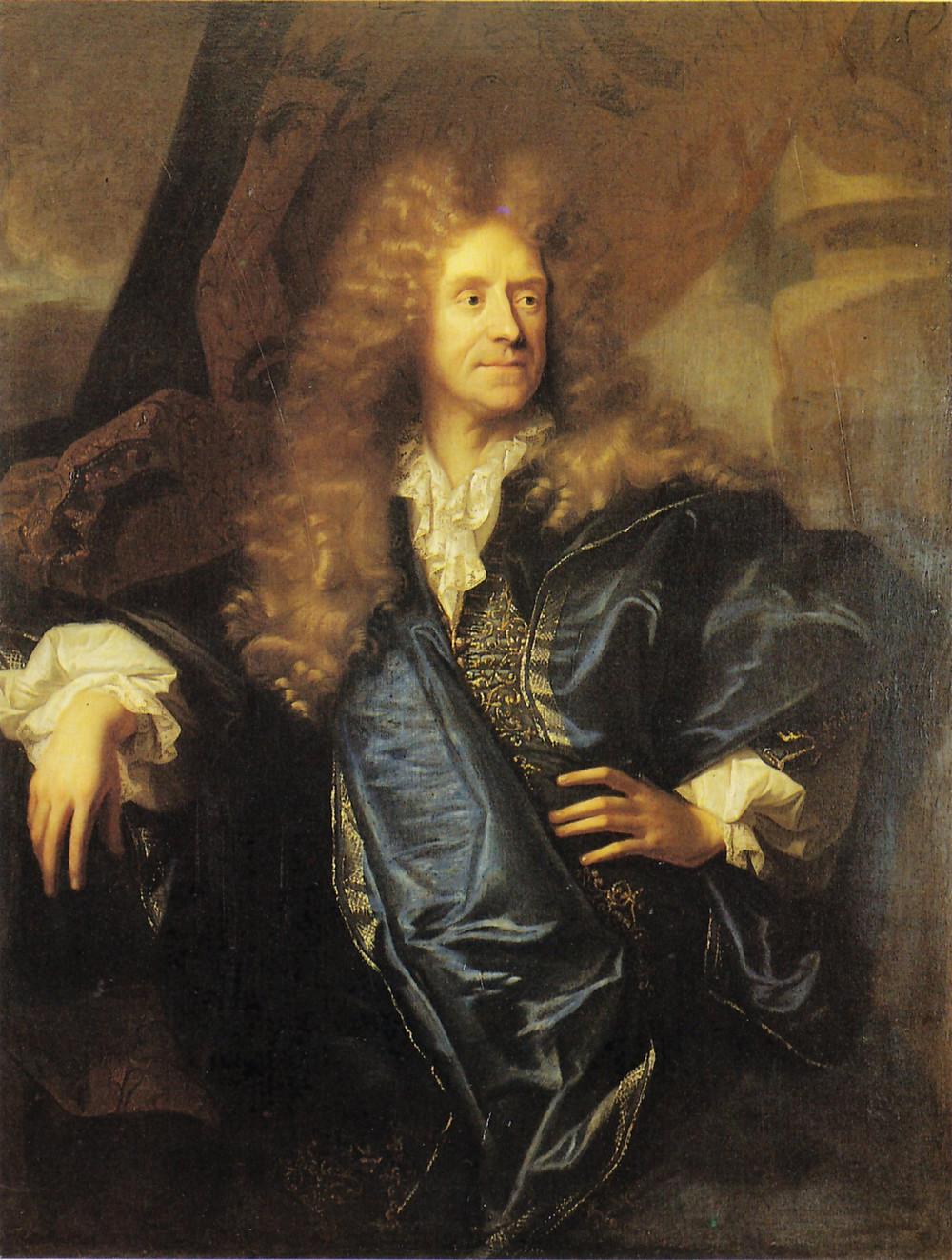 Hyacinthe Rigaud, Portrait de Maximilien Titon, 1688, collection particulière
