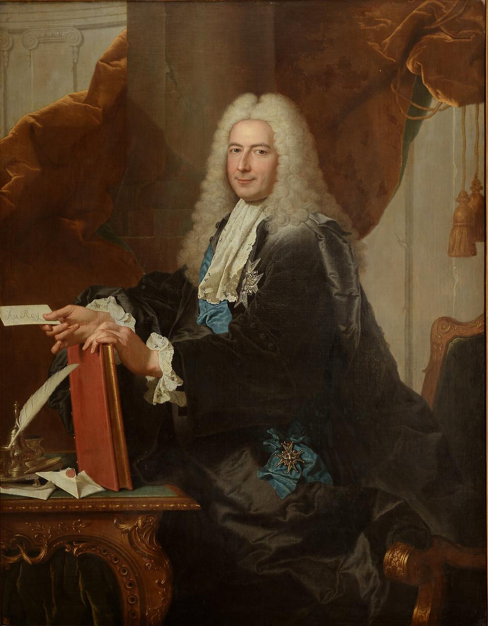 Hyacinthe Rigaud, Portrait de Philibert Orry, après 1734-1735, collection particulière