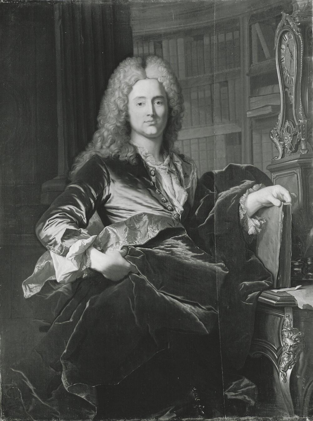Hyacinthe Rigaud, Portrait de Peder Benzon Mylius, 1721, Copenhague, Statens Museum for Kunst, inv. KMS 4003