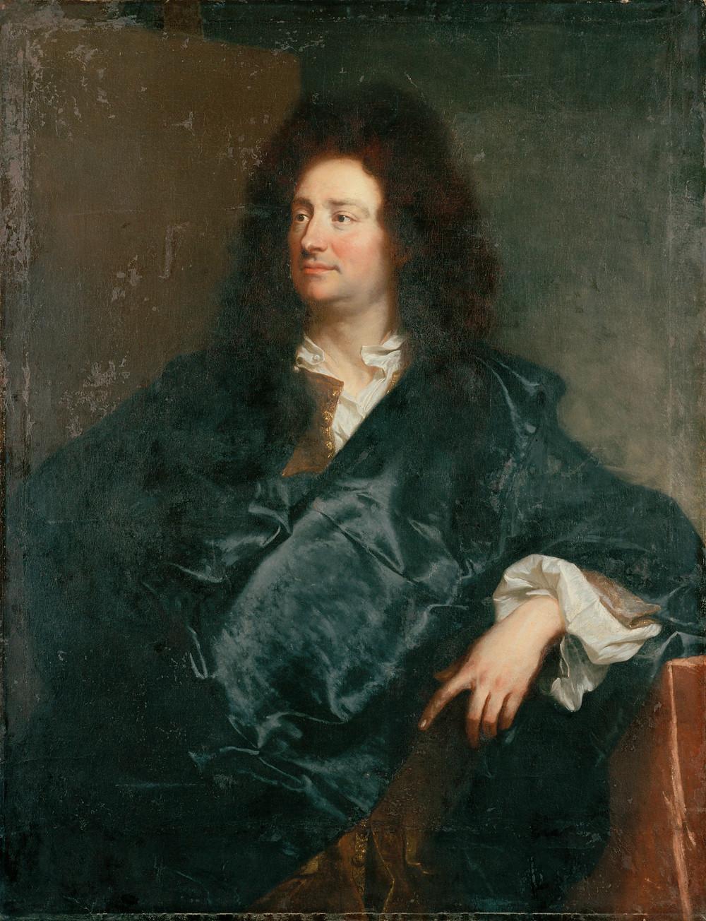 Hyacinthe Rigaud, Charles de La Fosse, 1691, Berlin, Schloss Charlottenburg
