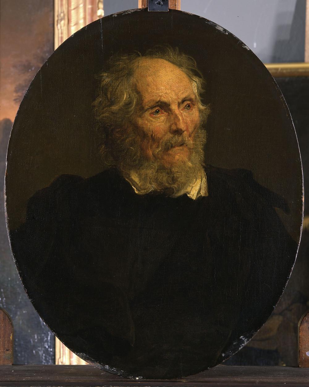 Suiveur d'Antoon van Dyck, Portrait de Thomas Parck, Dresde, Gemäldegalerie Alte Meister, inv. 1032