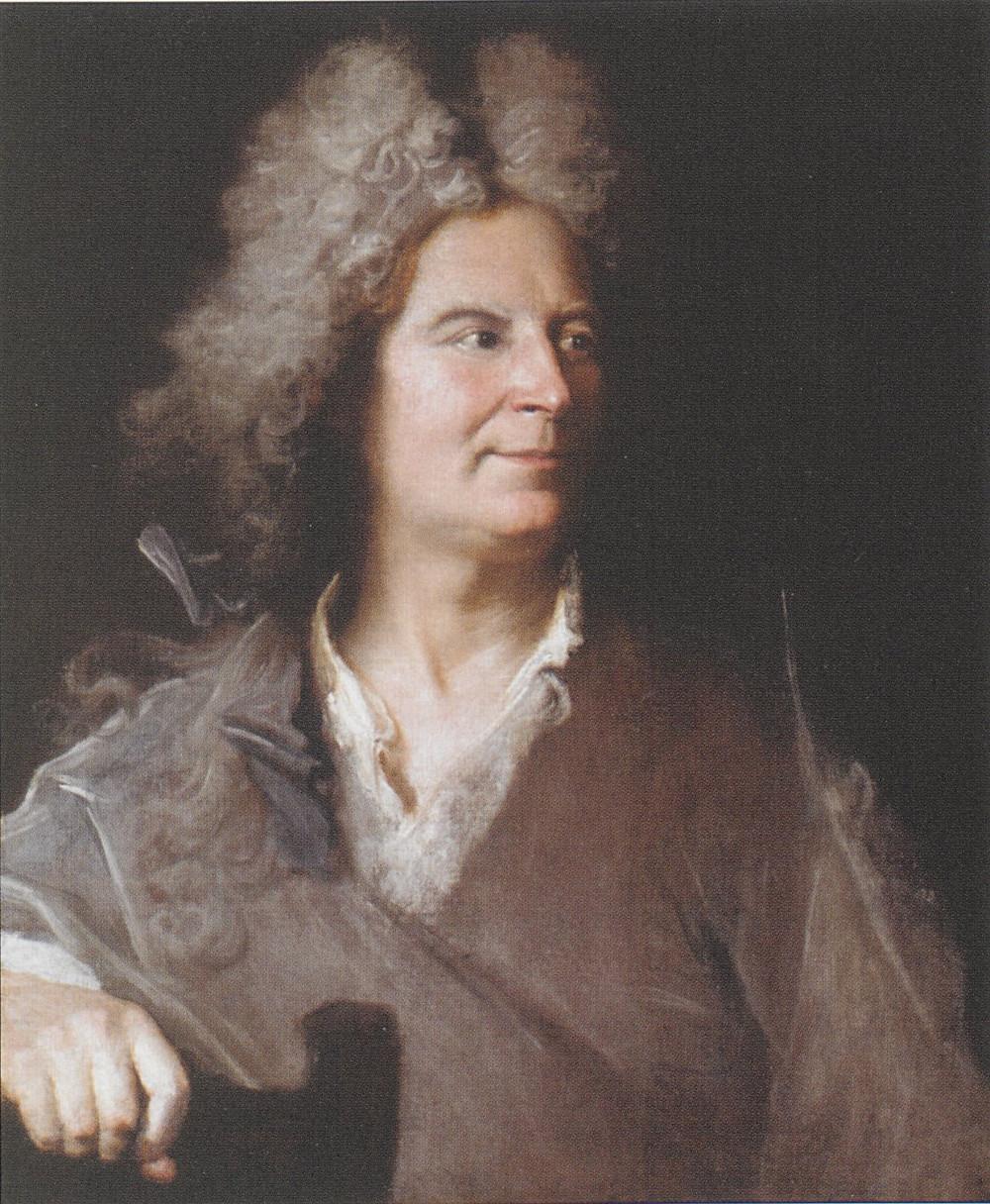 Hyacinthe Rigaud, Portrait d'un sculpteur inconnu, vers 1700-1705, collection particulière
