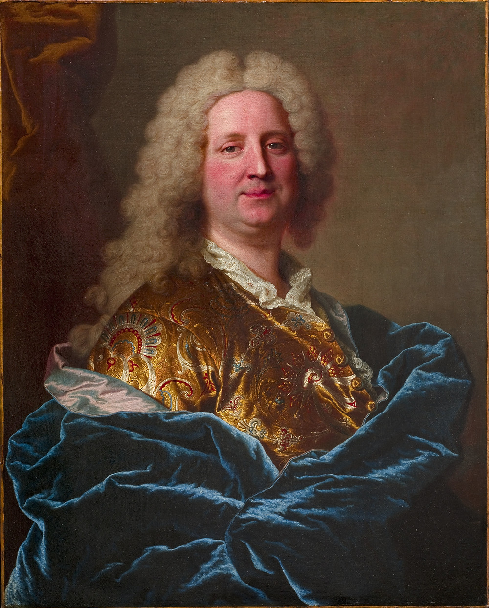 Hyacinthe Rigaud, Portrait d'Eusèbe Jacques Chaspoux, 1733, The Horvitz Collection