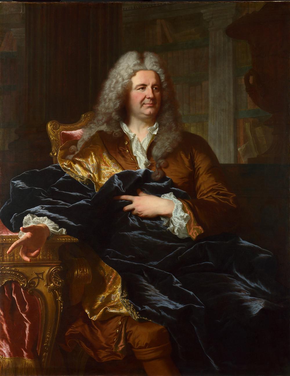Hyacinthe Rigaud, Portrait d'Antoine Pâris, 1724, Londres, National Gallery, inv. NG 6428