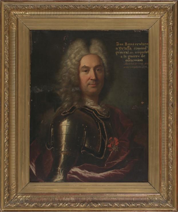 Hyacinthe Rigaud, Portrait de Bonaventura d'Ortaffa y de Vilaplana, 1715, collection particulière