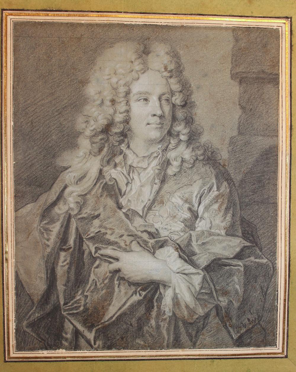 Hyacinthe Rigaud et atelier, Portrait d'un jeune homme, vers 1690-1695, collection particulière