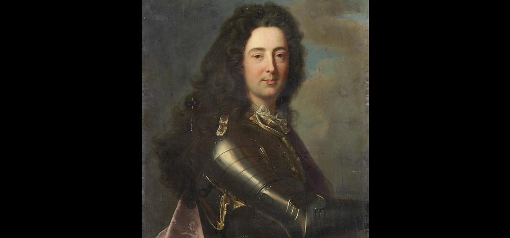 Atelier de Hyacinthe Rigaud, Portrait d'Emmanuel Théodose de La Tour d'Auvergne, duc d'Albret, vers 1705-1708 (?), collection particulière