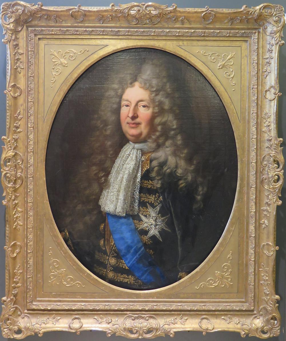 Hyacinthe Rigaud (et atelier ?), Portrait de Jean Antoine II de Mesmes, comte d'Avaux, entre 1700 et 1702, localisation actuelle inconnue