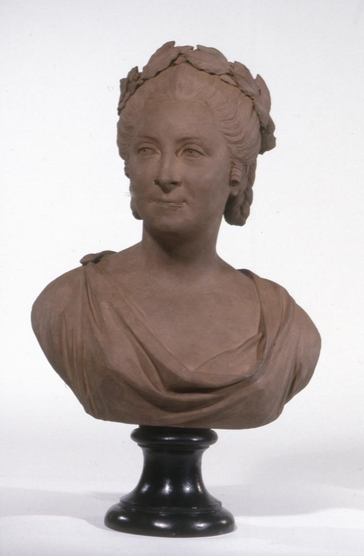 Jean-Baptiste Defernex, Portrait d'Anne Marie Fiquet du Bocage, Londres, British Museum, inv. 1766, 0801.1