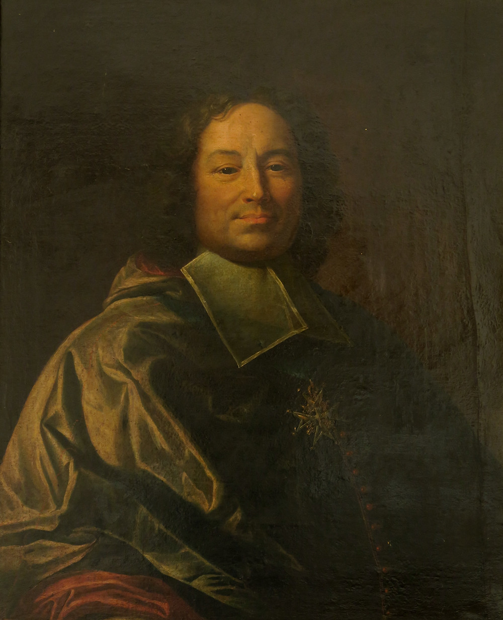 Anonyme d'après Hyacinthe Rigaud, Portrait de René François Beauvau du Rivau, archevêque de Toulouse, après 1715, collection particulière