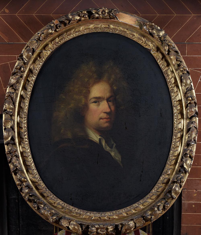 Hyacinthe Rigaud, Portrait d'homme inconnu, vers 1681-1685, collection particulière