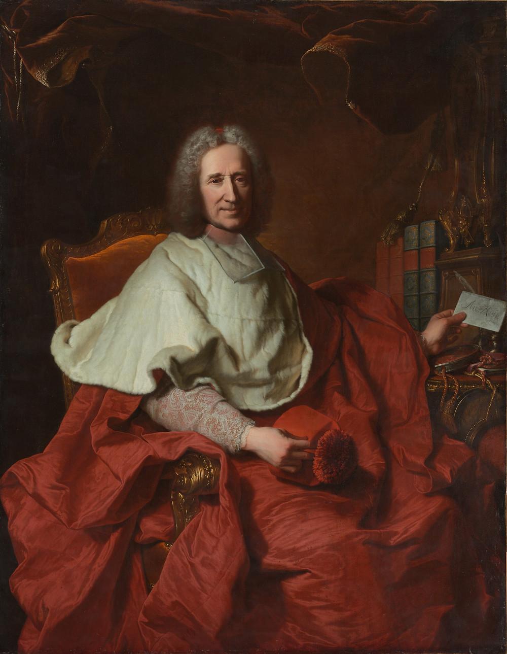 Hyacinthe Rigaud, Portrait du cardinal Dubois, 1723, Etats-Unis, Cleveland, Museum of Art, inv. CMA.67.17.