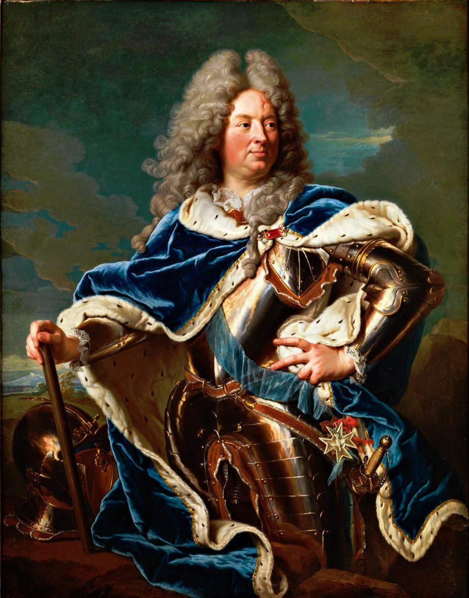 Hyacinthe Rigaud, Portrait deLouis Antoine de Pardaillan de Gondrin, duc d'Antin, 1709-1711/1719,collection particulière