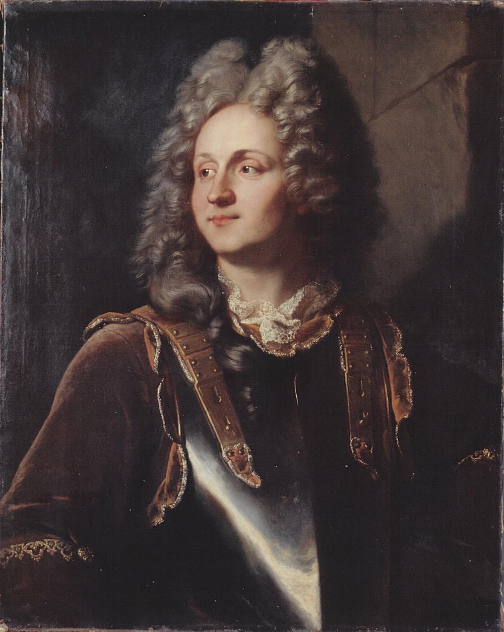 Hyacinthe Rigaud, Portrait de François Henri d'Estavayer-Mollondin, 1705, Neuchâtel, musée d'Art et d'Histoire, inv. AP 591