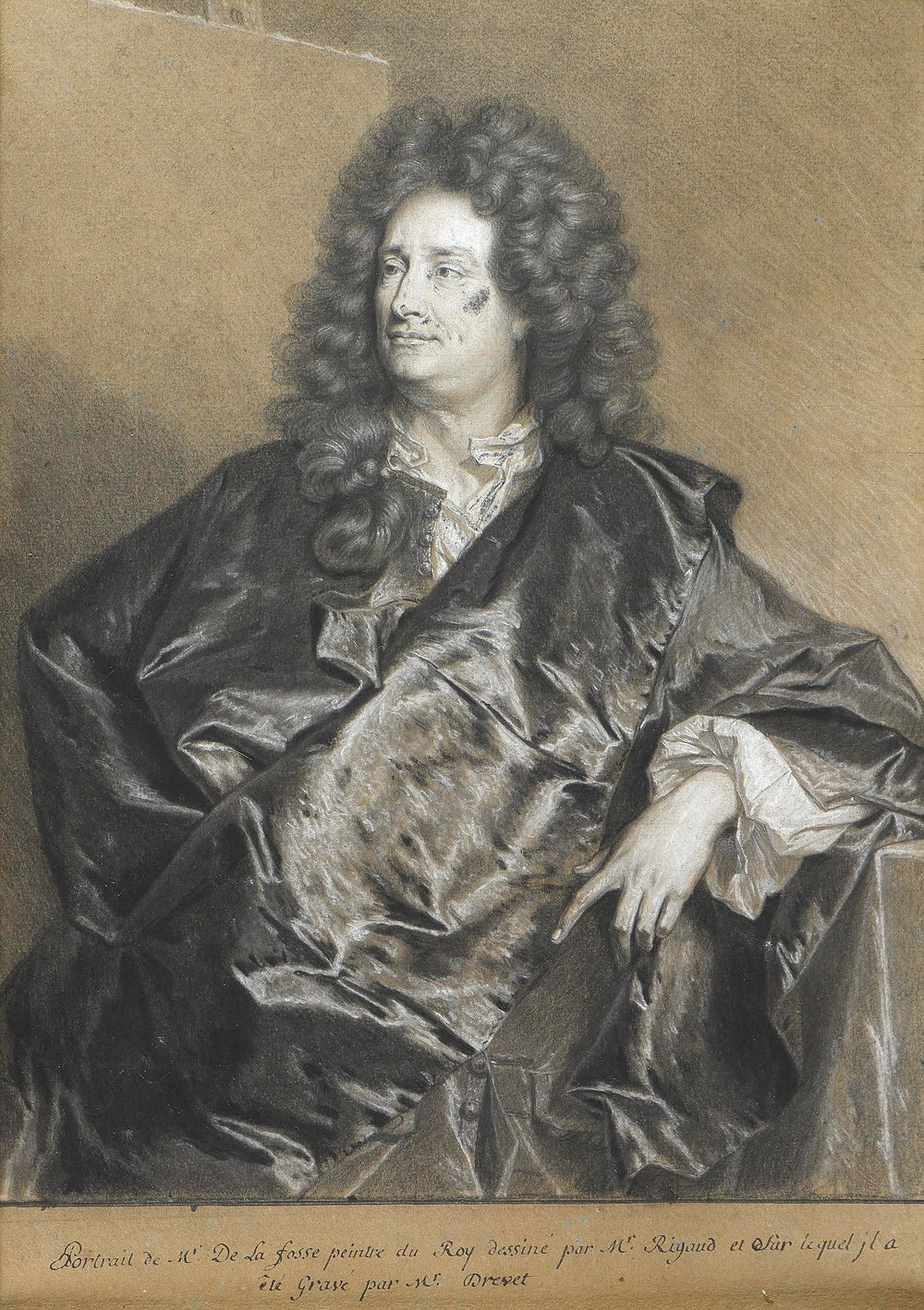 Hyacinthe Rigaud et B. Monmorency, Charles de La Fosse, collection particulière