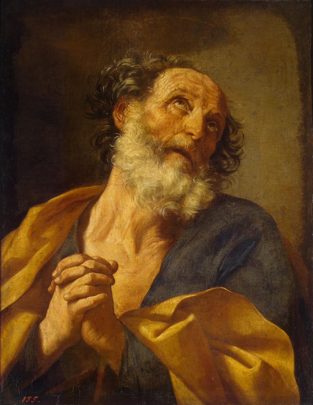 Guido Reni, Saint Pierre, Saint-Pétersbourg, musée de l'Ermitage, inv. 63