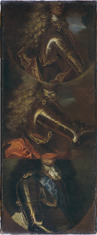 Atelier de Hyacinthe Rigaud,  Étude de trois bustes en cuirasse, vers 1690-1705, Bordeaux, musée des Beaux-Arts