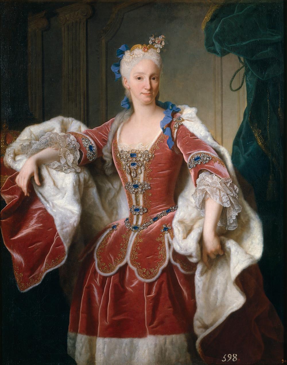 Jean Ranc, Portrait d'Isabelle Farnese, 1723, Madrid, musée du Prado, inv. P02330