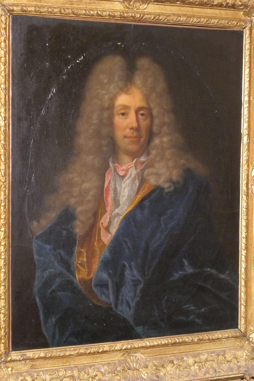 Atelier de Hyacinthe Rigaud, Portrait de Michel Bégon le Jeune dit Bégon de Montfermeil, après 1695, collection particulière