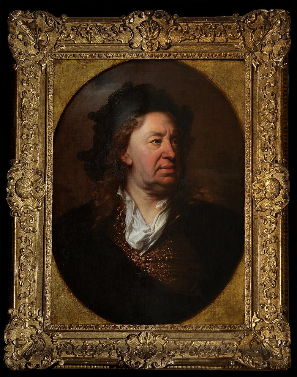 Hyacinthe Rigaud, Portrait d'Everhard Jabach, vers 1688, collection particulière