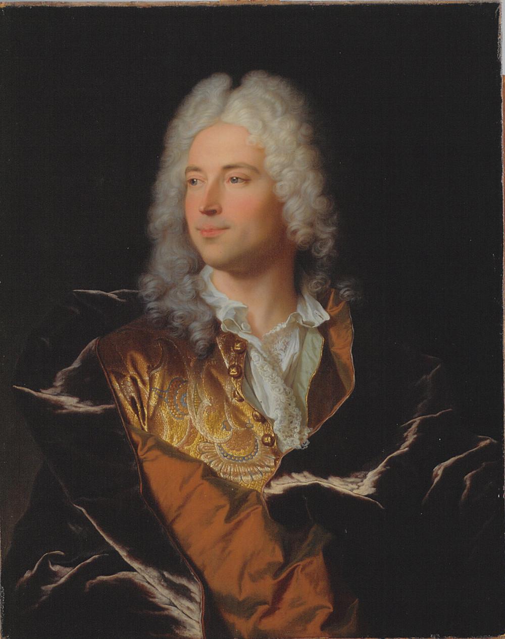 Hyacinthe Rigaud, Portrait de Lukas Schaub, 1721-1722, Bâle, Kunstmuseum, inv. 505