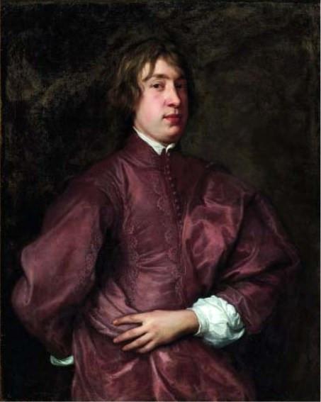 Antoon van Dyck, Portrait d'Everhard Jabach, 1636, collection particulière