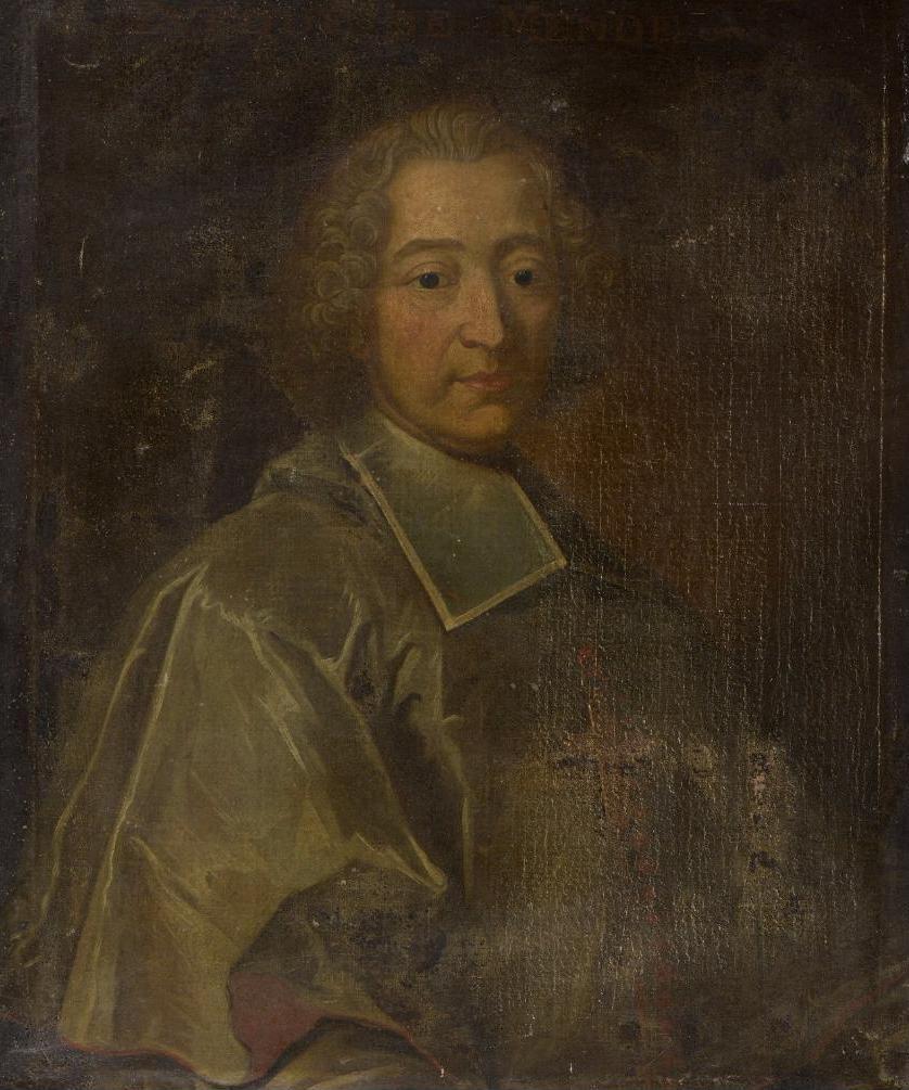 Anonyme du XVIIIe siècle (d'après Rigaud ?), Portrait de Gabriel Florent de Choiseul-Beaupré, vers 1723 ?, collection particulière