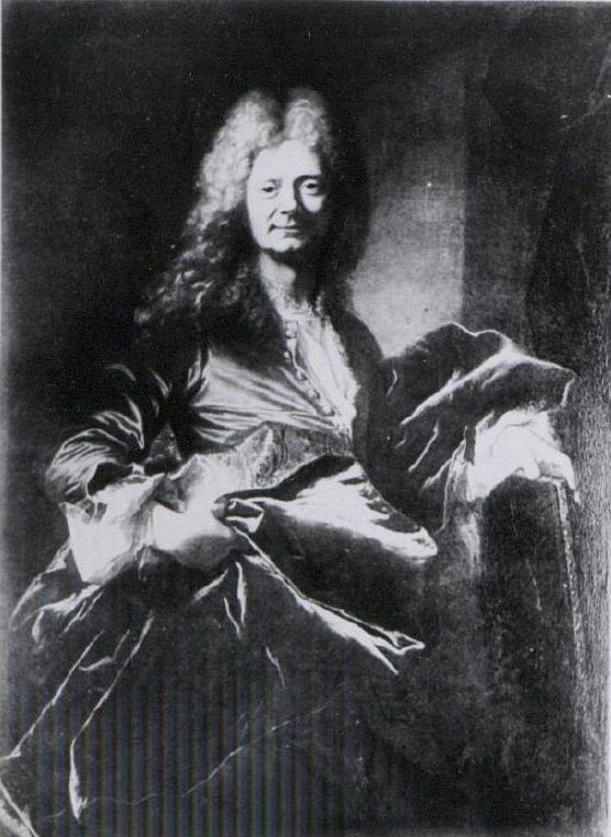 Hyacinthe Rigaud, Portrait d'un homme inconnu, vers 1705-1710, localisation actuelle inconnue