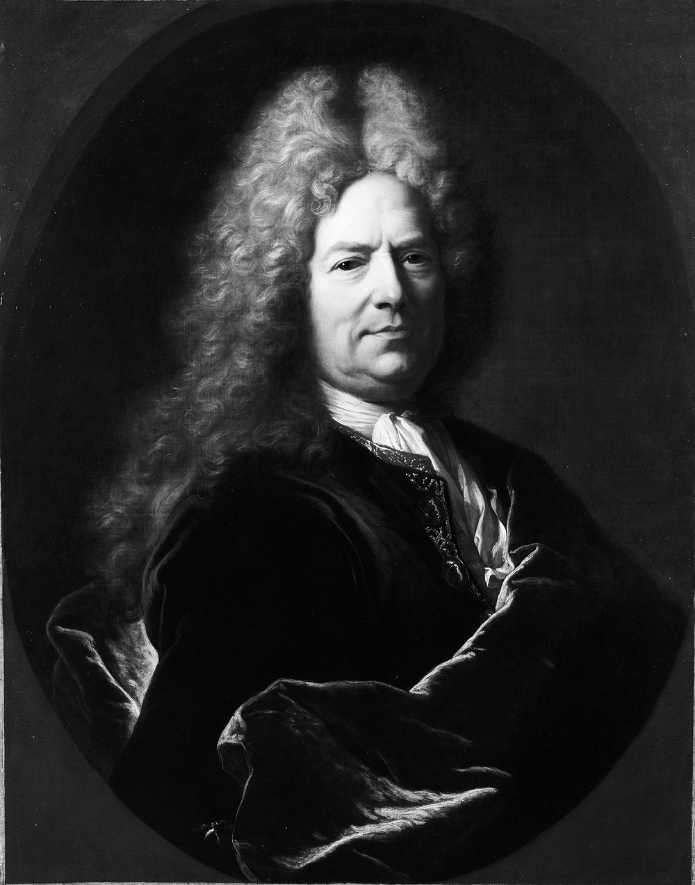 Hyacinthe Rigaud, Portrait d'homme inconnu, vers 1705-1715, Williamstown, The Sterling and Francine Clark Art Institute, inv. 953