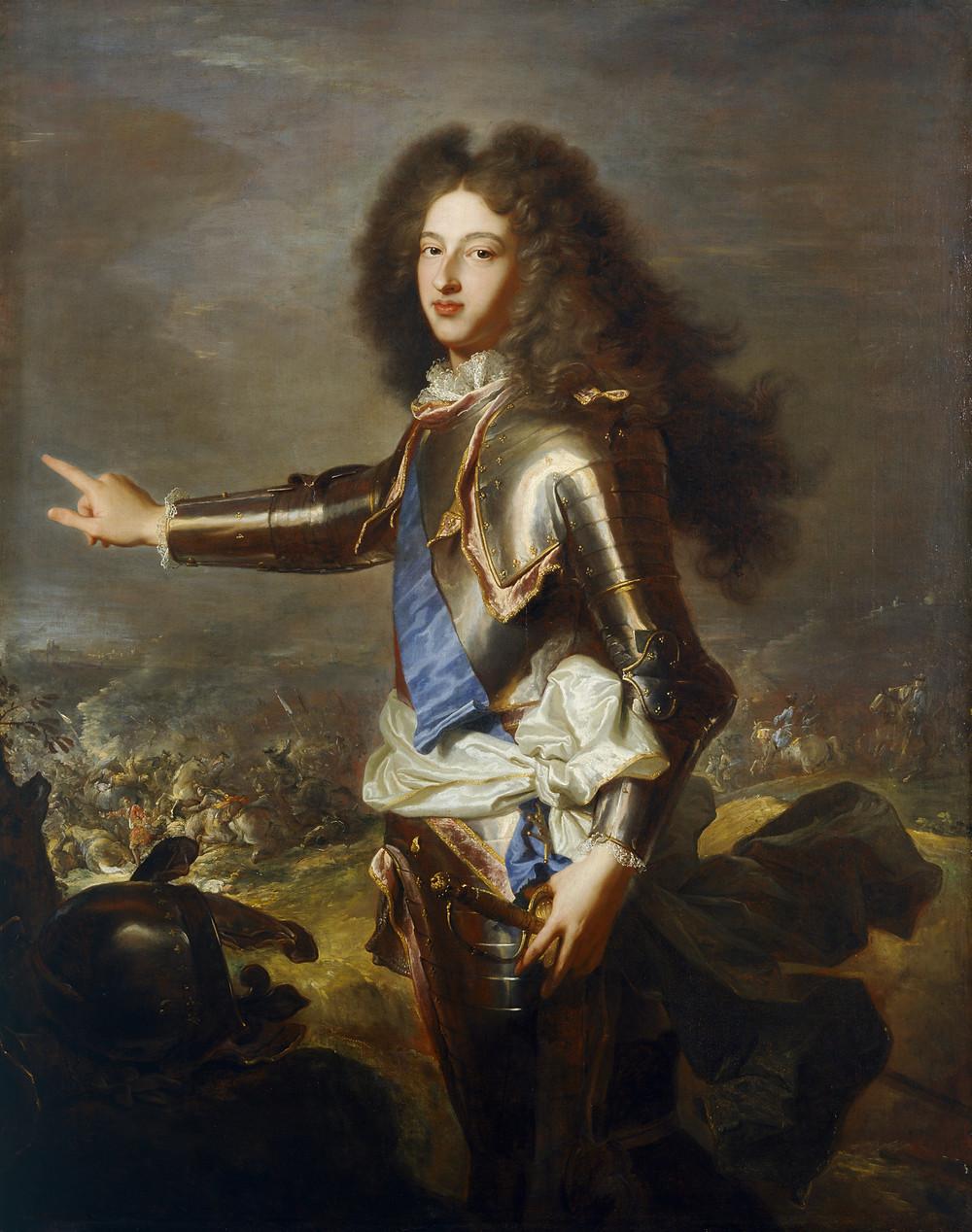 Hyacinthe Rigaud et Joseph Parrocel, Portrait du duc de Bourgogne, 1702-1703, Londres, Kenwood House, The Iveagh Bequest, inv. IBK 958