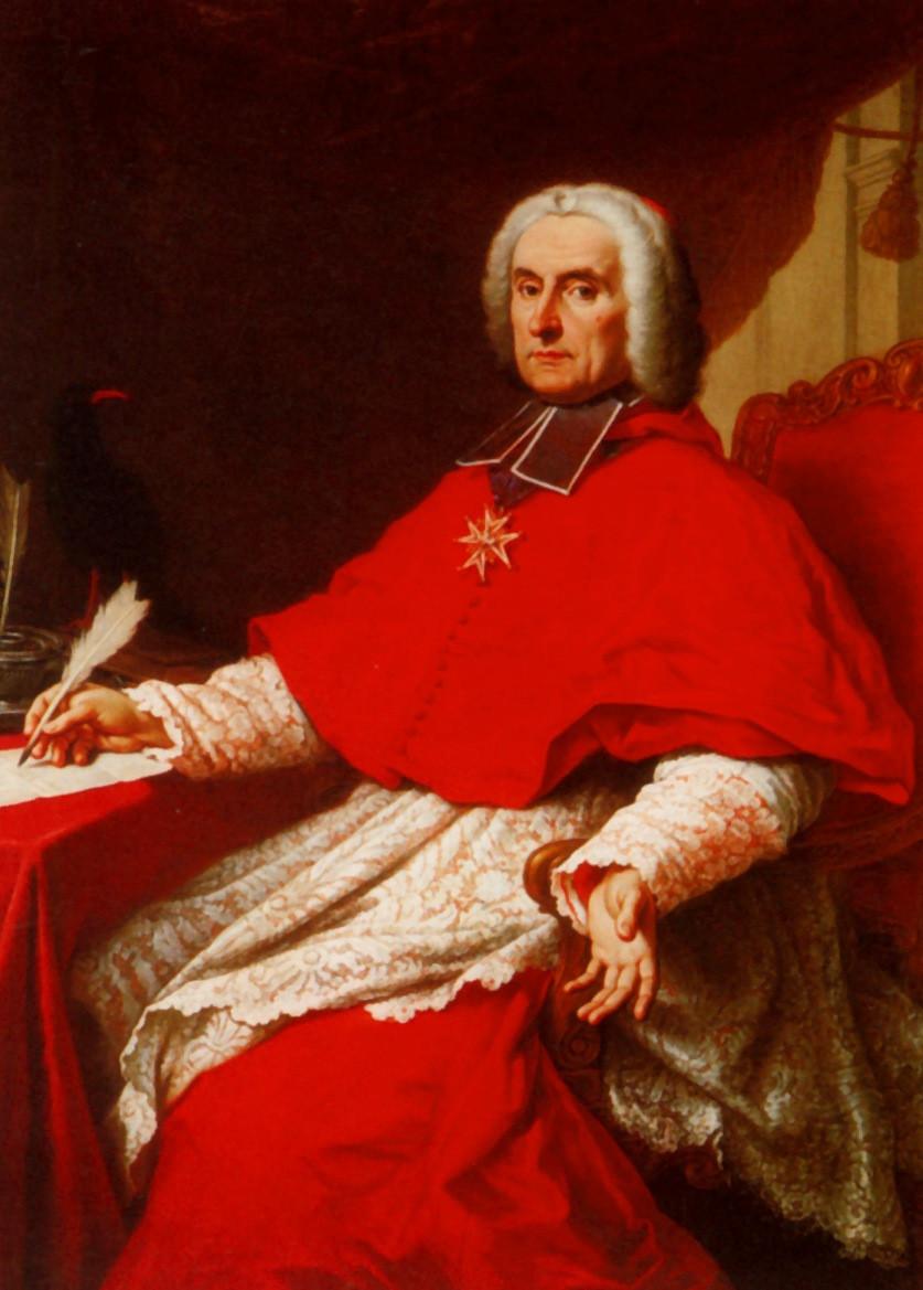 Etienne Parrocel, Portrait du cardinal de Tencin, archevêque de Lyon, 1741, Lyon, musée des Tissus et des Arts décoratifs