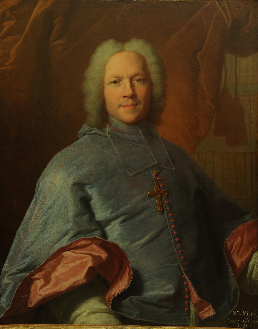 Hyacinthe Rigaud, Portrait d'Alexandre Milon, évêque de Valence, 1735, Valence, musée des Beaux-Arts, inv. P.21