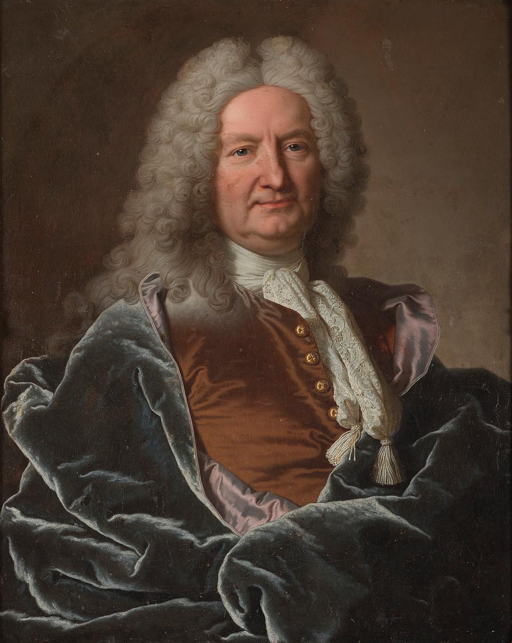 Hyacinthe Rigaud et atelier, Jean François de La Porte, 1733, château de Meslay, collection particulière
