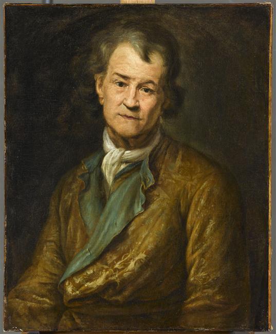 François Puget, Portrait de Pierre Puget, vers 1692, Paris, musée du Louvre, inv. 7345