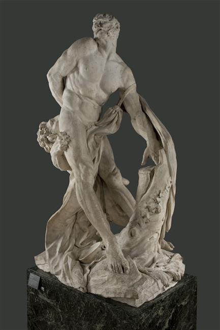Pierre Puget, Milon de Crotone, 1671-1682, Paris, musée du Louvre, inv. M.R.2075