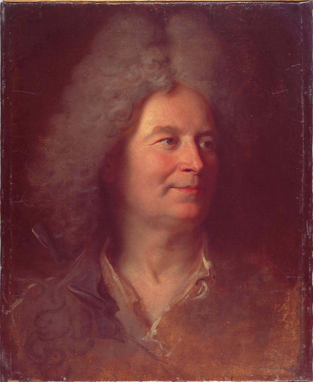 Hyacinthe Rigaud, Esquisse pour le portrait d'un sculpteur inconnu, vers 1700-1705, Berne, Kunstmuseum, inv. 977
