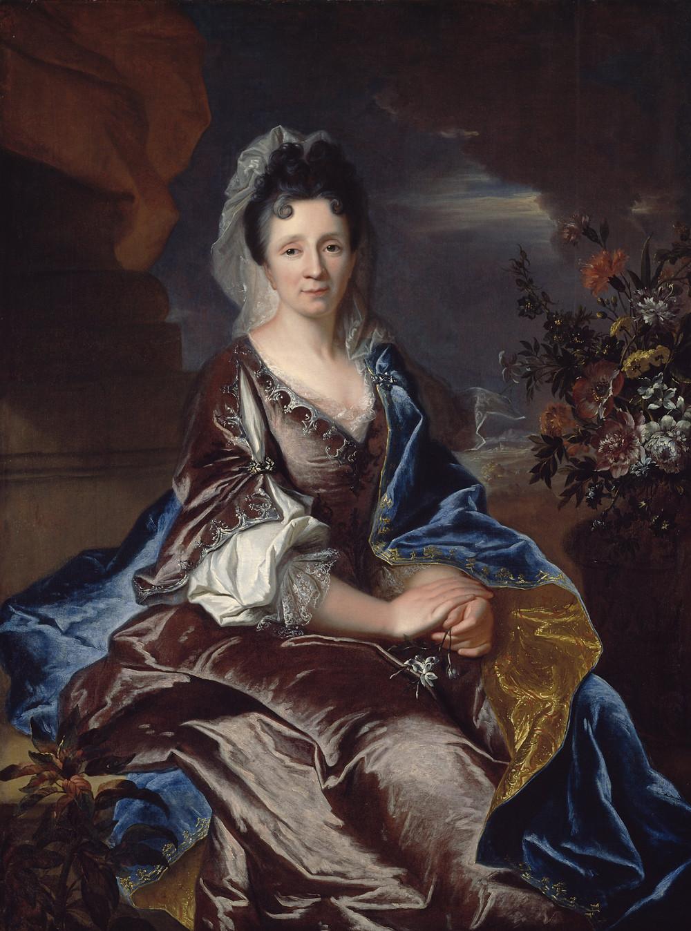 Hyacinthe Rigaud avec la collaboration de B. Monmorency, Portrait d'Esther d'Usson de Bonnac, 1706-1707, États-Unis, Kansas City, The Nelson-AtkinsMuseum of Art, inv. F77-14