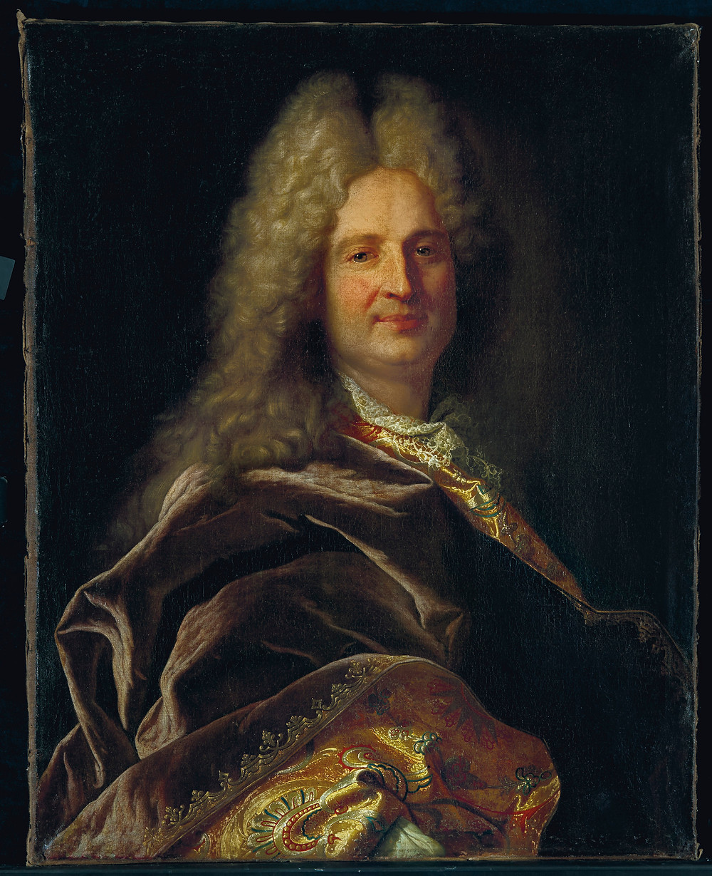 Hyacinthe Rigaud, Portrait d'un homme inconnu, vers 1710-1715, collection particulière