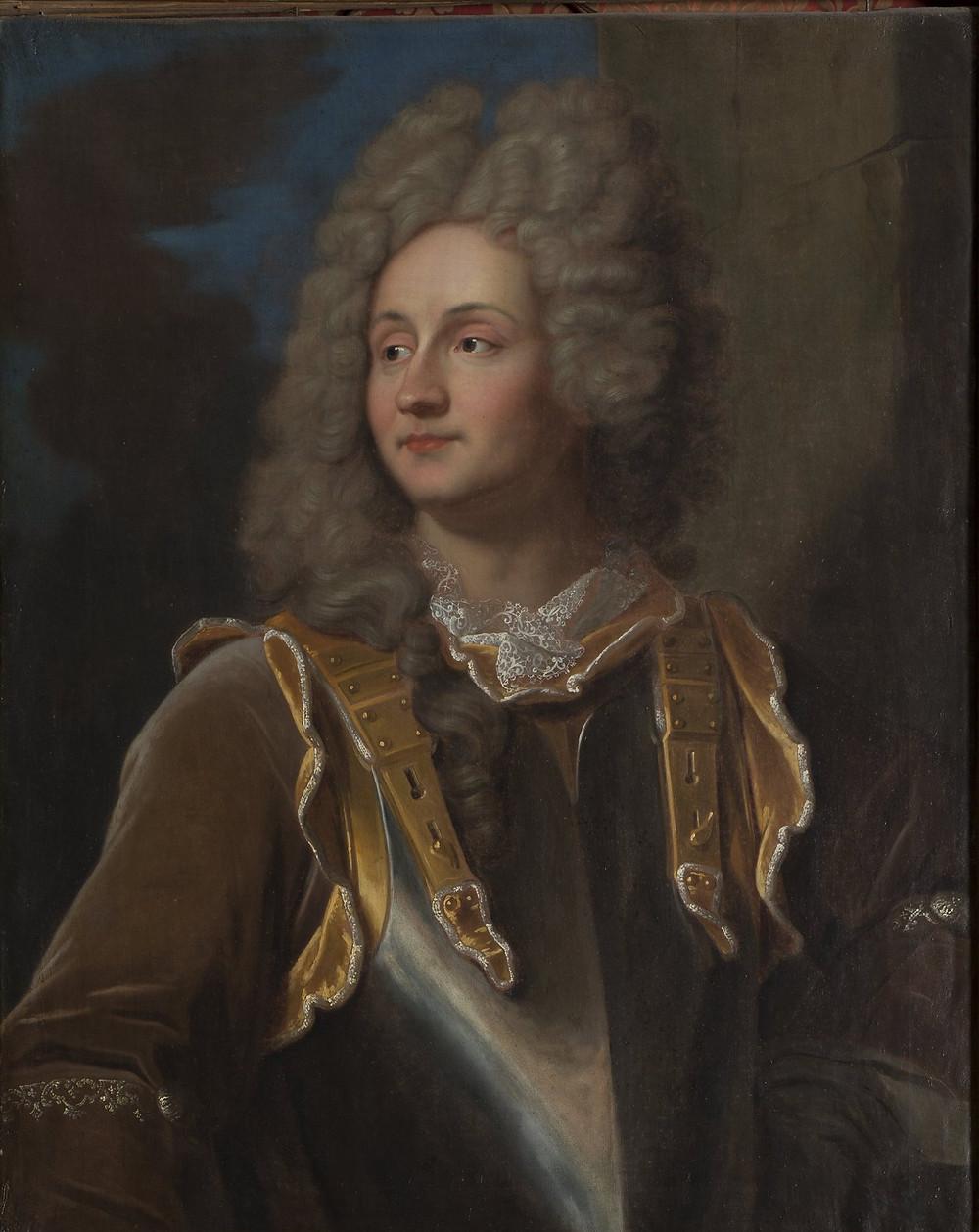 Atelier (?) de Hyacinthe Rigaud, Portrait de François Henri d'Estavayer-Mollondin, après 1705, Solothurn, Museum Blumenstein, inv. 1955.79
