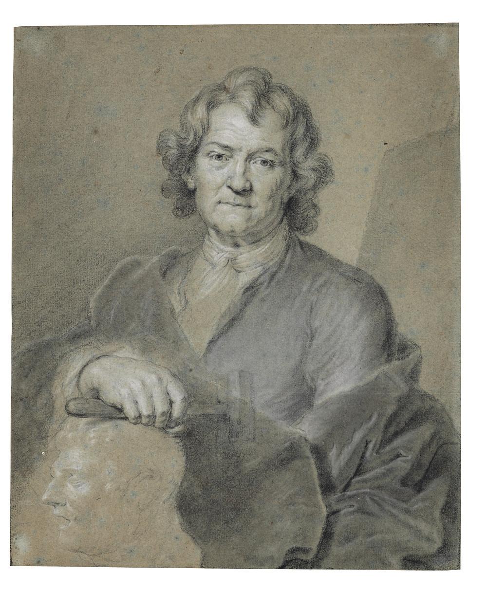 Hyacinthe Rigaud, Portrait du sculpteur Pierre Puget, Paris, Galerie Eric Coatalem