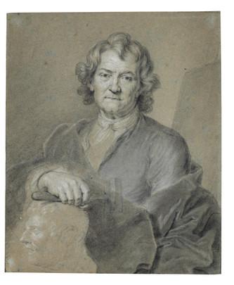 Le portrait dessiné de Pierre Puget par Hyacinthe Rigaud