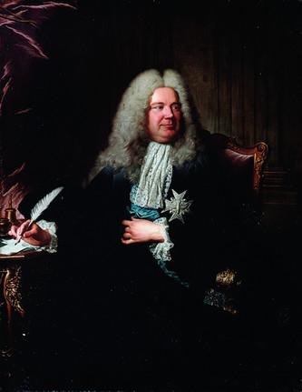 Colloredo ou le portrait par Rigaud de M. Dodun, contrôleur général des finances