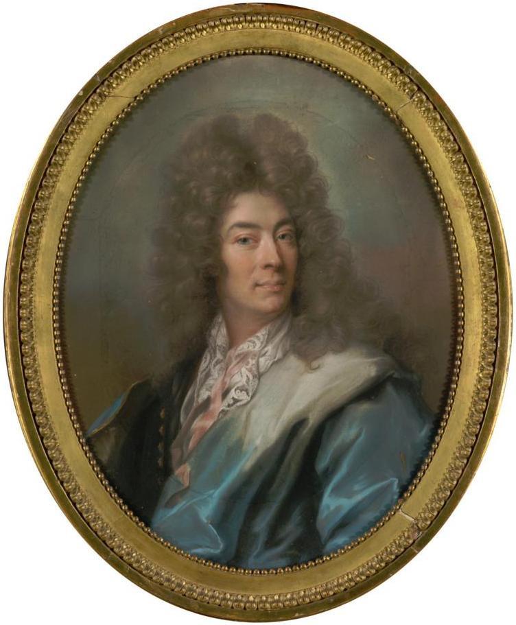 Joseph Vivien, Portrait de Daniel II Bouette de Blémur, vers 1725, collection particulière