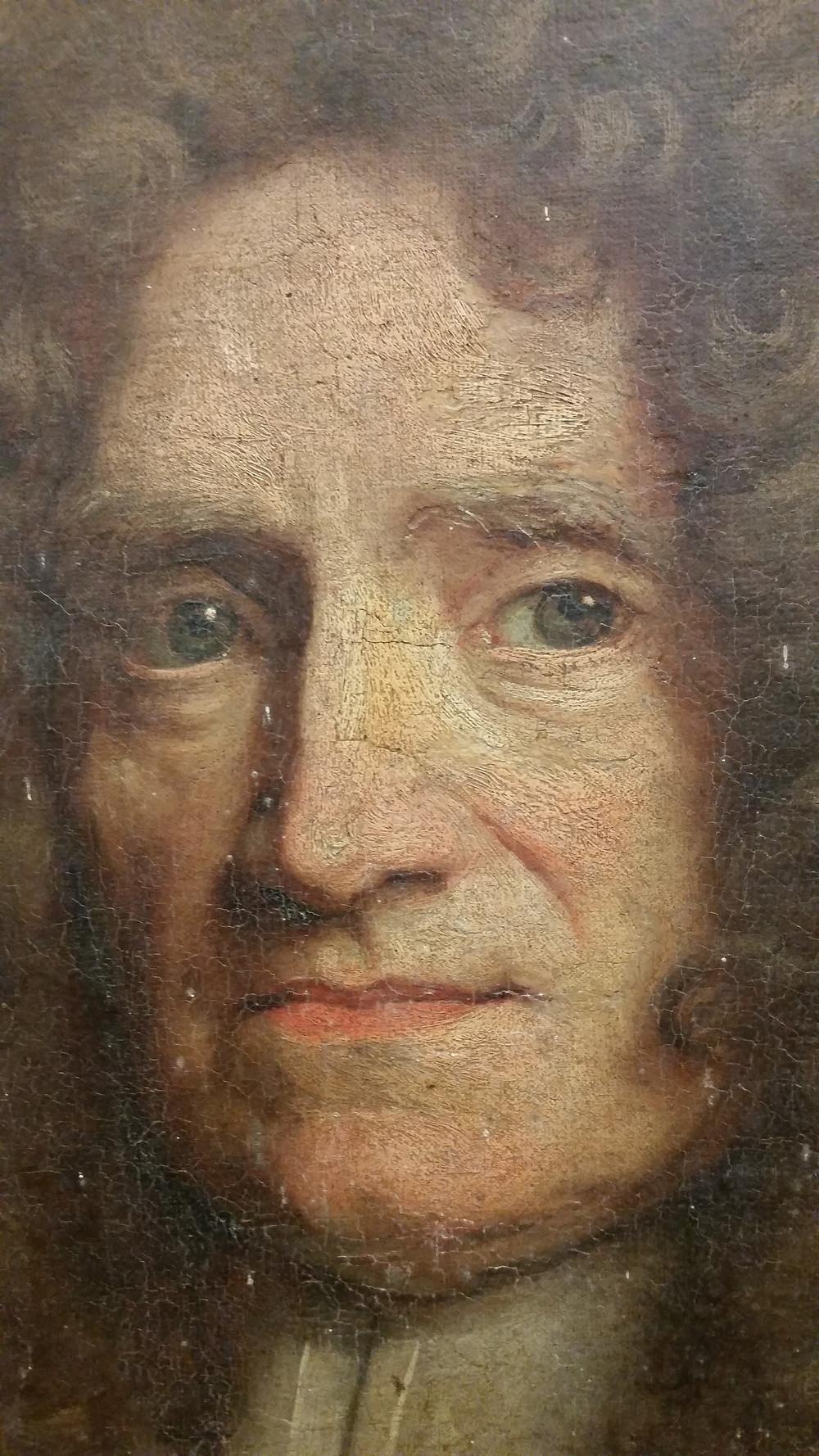 Hyacinthe Rigaud, Portrait de René Gohin de La Cointerie (détail), 1692, collection particulière