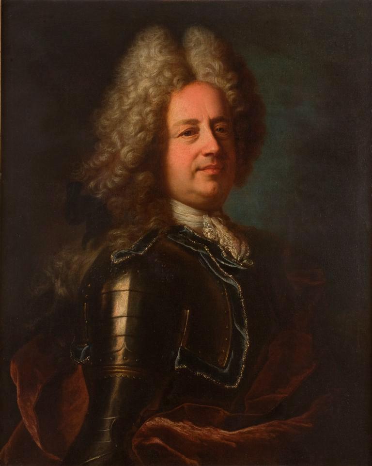 Hyacinthe Rigaud avec la collaboration de Bailleul, Portrait de Nicolo Durazzo, 1712, Tortona, museo civico