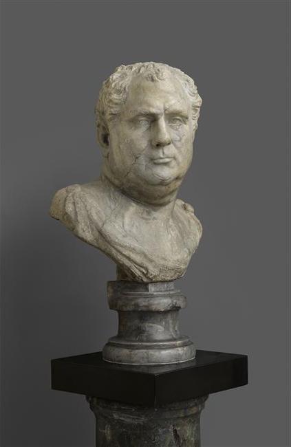 Italie, première moitié du XVIe siècle, Buste d'homme (pseudo Vitellius), Paris, musée du Louvre, inv. M.R.684
