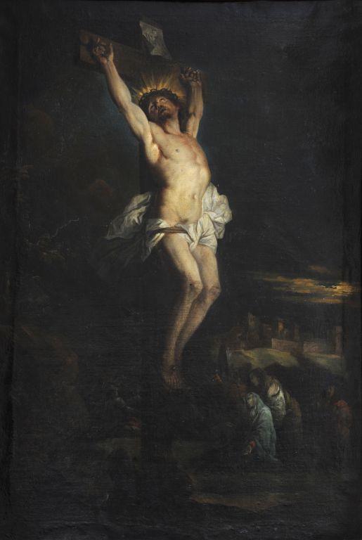 Hyacinthe Rigaud, Christ en croix, 1695, Perpignan, musée Rigaud, inv. 893.2.1.
