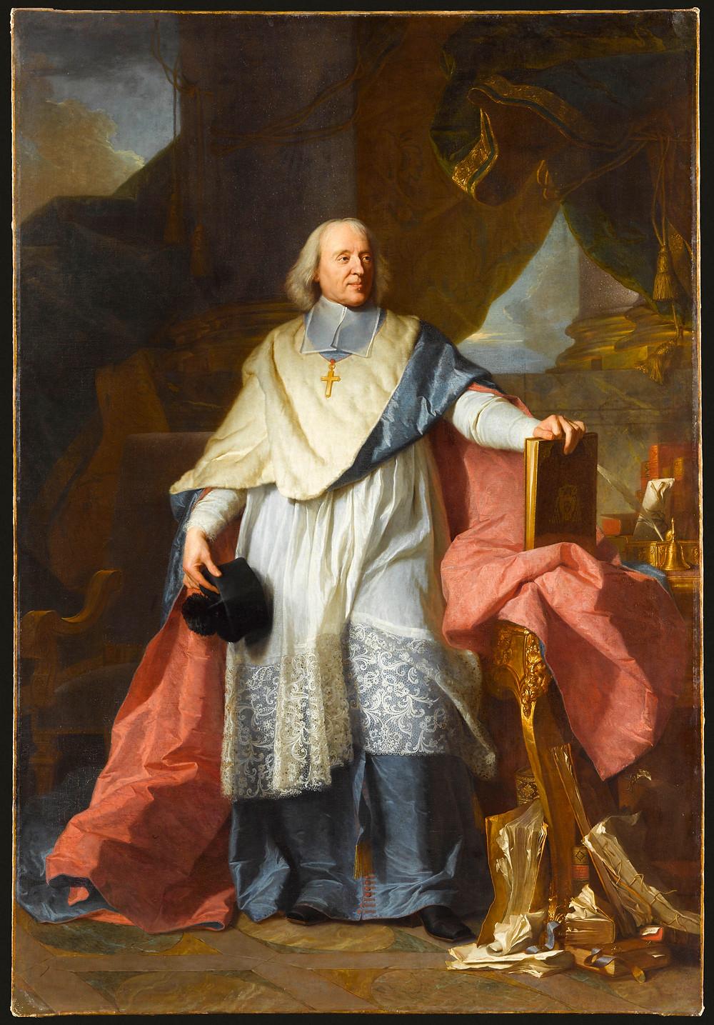 Hyacinthe Rigaud avec la participation de Bailleul, Portrait de Jacques Bénigne Bossuet, 1701-1705, Paris, musée du Louvre, inv. 7506