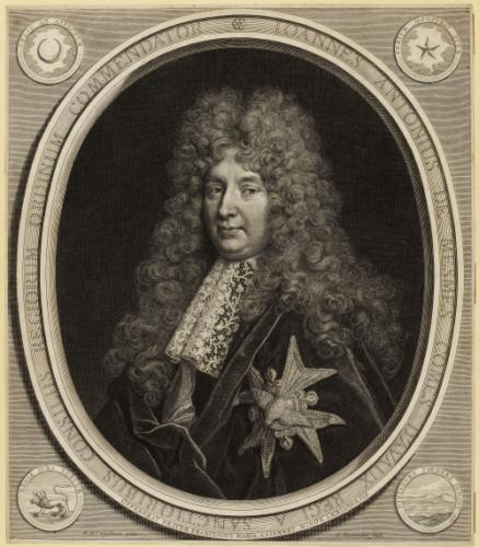 Cornelis Martinus Vermeulen d'après Nicolas de Largillierre, Portrait de Jean Antoine II de Mesmes, comte d'Avaux, Paris, BnF