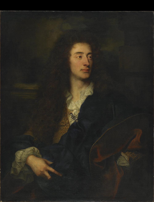 Hyacinthe Rigaud et atelier, Portrait d'un jeune homme, vers 1687-1688, Besançon, musée des Beaux-Arts et d'Archéologie, inv. 896.1.148